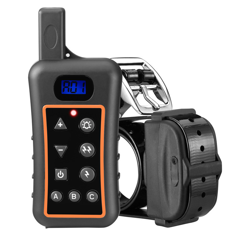 shock waterproof rechargeable 1200m best electronic waterproof dog training collar