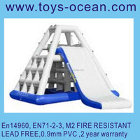 Inflatable water ice mountain, Inflatable water blob tower,Inflatale tower slide