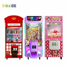 Arcade Games machines Toy Crazy 2 Game Sale Kit Used Catching Crane Claw Vending Machine