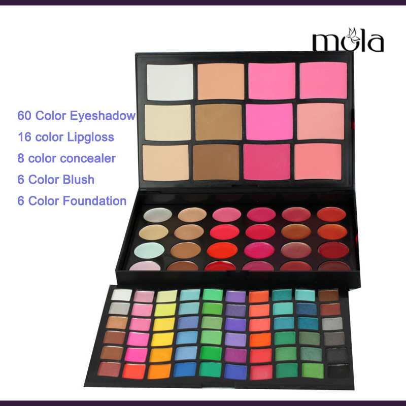 Beauty products makeup hot sale 96 color eyeshadow blush concealer lip gloss makeup set