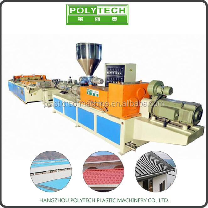 Professional roofing sheet production line
