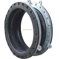 High Flexible GJQ Single Sphere CSM Rubber Bellows Expansion Joint