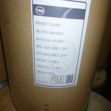 BP/USP/ EP Fiber drum Methyl paraben / Fiber drum white powder