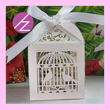 Wed souvenir gift laser cut pearlescent paper matellic paper love heart indian door gift TH-60 Haoze Brand