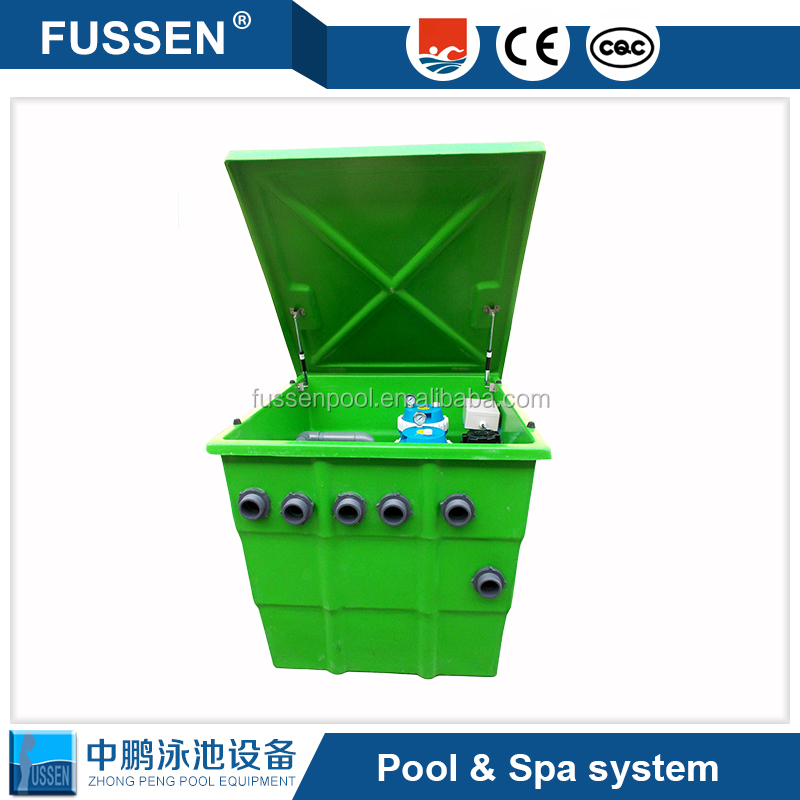 Aquaculture water filters aquaculture free engine image for Pool sand filter for koi pond