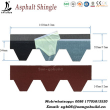 Chinese quality manufacture roofing shingles/asphalt roofing shingle/lowest cost roofing prices