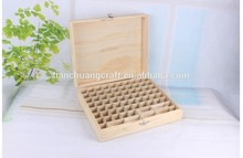 2015 essential oil packaging wooden box for beauty shop use