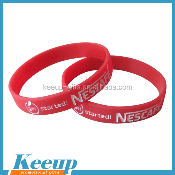 Customized Silicone Rubber Wristband