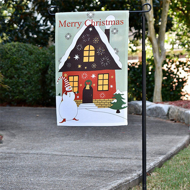 High quality seasonal decorative garden flag