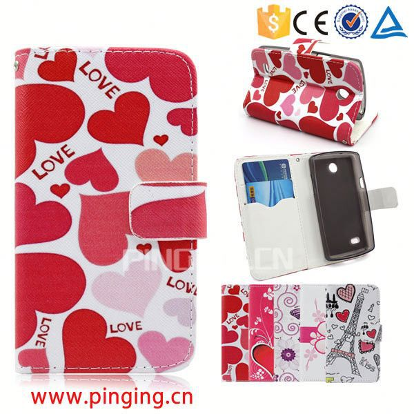 Alibaba express Wholesale Magnet Leather Case for HTC One Me,for HTC One Me Mobile phone accessory