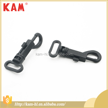 Professional custom plastic adjustable shoulder strap hook key buckles for bag OEM ODM BSCI OEKO-TEX