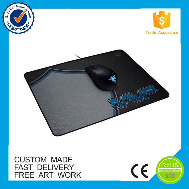 Heat printed custom promotional mouse pad