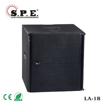 outdoor concert sound system subwoofer 15inch 600w LA-2B spe audio