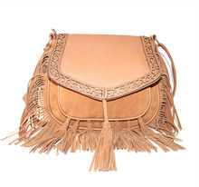 New Design fringe tassel fashion Ladies ethnic tribal handbags