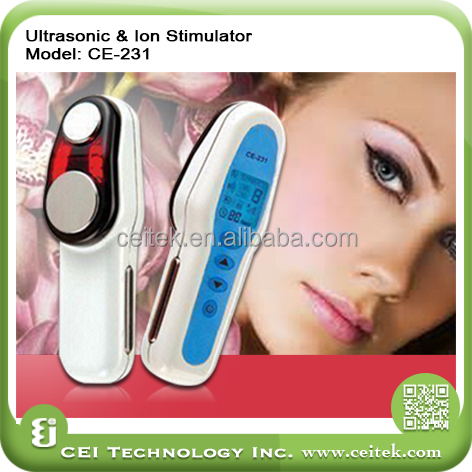 Portable home use electric Wrinkle Removal Facial Massager