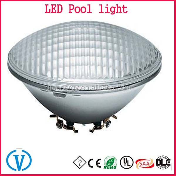 Alibaba Express New product 12V 24W Floating led pool light IP68 PAR56 led Swimming Pool Lights