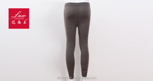 Autumn and winter cashmere leggings seamless integrated single thin pants Ms. warm pants