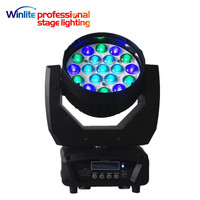 19x4in1 15w Zoom Led Moving Head