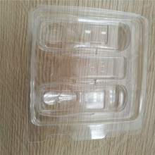 Custom vacuum formed plastic packing tray , clear plastic blister tray best selling products