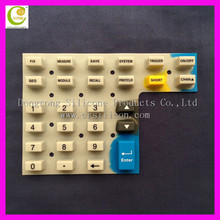 Remote control conductive silicone rubber keypads,silicone bluetooth keyboard, environmental telephone silicone keypad