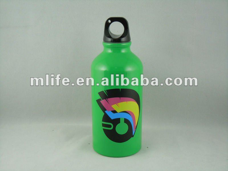 novelty style 400ml kids aluminum sports water bottle