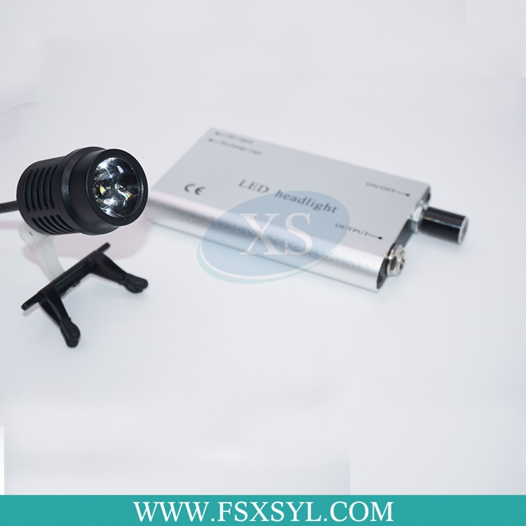 Portable LED dental head light