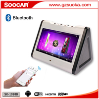 10.1 inch Android bluetooth touchscreen karaoke player with wifi USB SD portable KTV machine