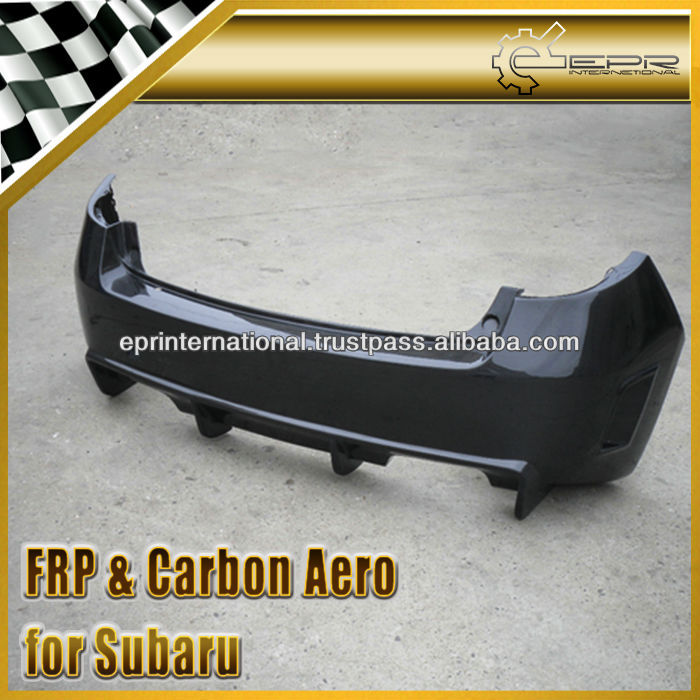 For Subaru Impreza GRB Carbon Fiber Racing Style Rear bumper Body Kit