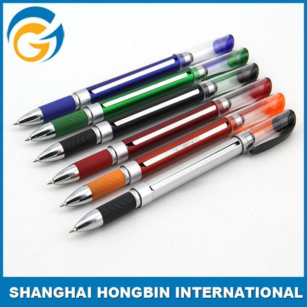Red Colored Banner Flag Outdoor Stylus Pens