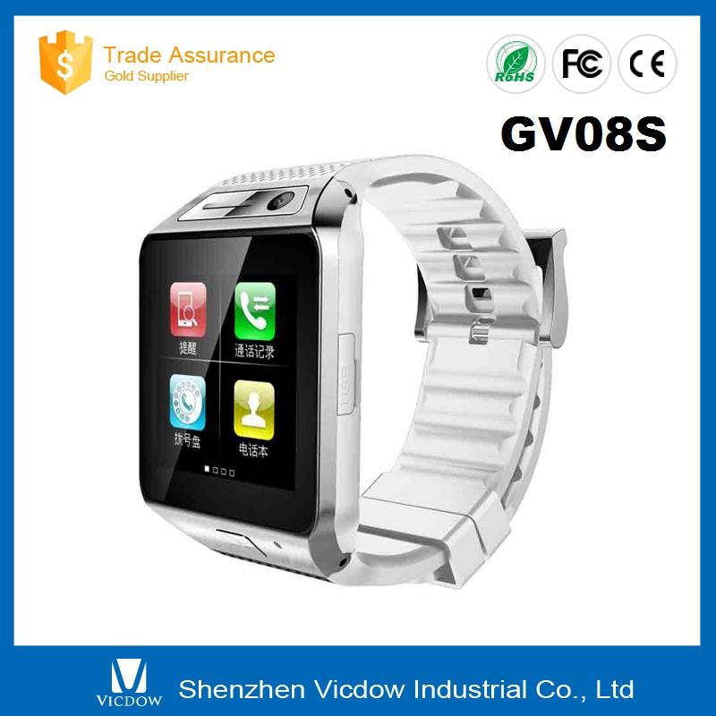 "Smart watch gv08s smart android 2.2 watch phone 1.54"" LCD screen"