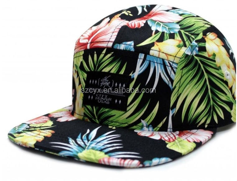 Custom Design Made Flower Snapback Hats And Caps Manufacturer Wholesale For Sale Paypal