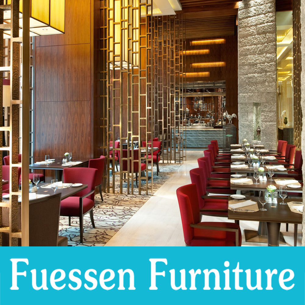 Contemporary Wooden Hotel Restaurant Furniture Luxury Dining Room