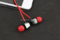 hot selling plush headphones, neutral gift box package plastic wired headphones with various colors