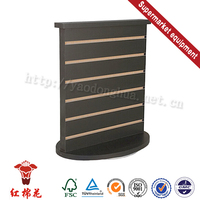 China factory wooden optical shop display for food