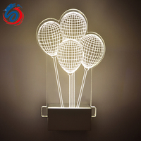 Modern minimalist 3D acrylic decorative wall lamp LED wall lamp creative lamp manufacturers, wholesale