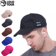 Hot Sell Stereo Wireless Bluetooth Headset Sun Hat Casual Music Sport Head Wear Baseball Cap