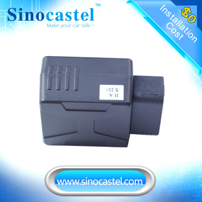 Most popular OBD 2G GSM GPS sat finder data recorder