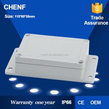 CF-8ABS electrical enclosure box Gray IP65 waterproof 115*85*35mm standard junction box sizes