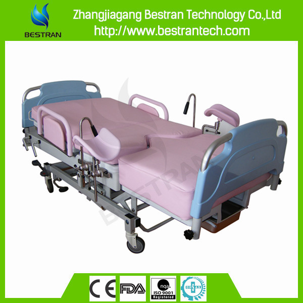 BT-LD002B China manufacturer CE cheap luxurious hospital delivery equipment birthing labor beds price