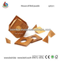 3d wooden puzzles House of Bird puzzle