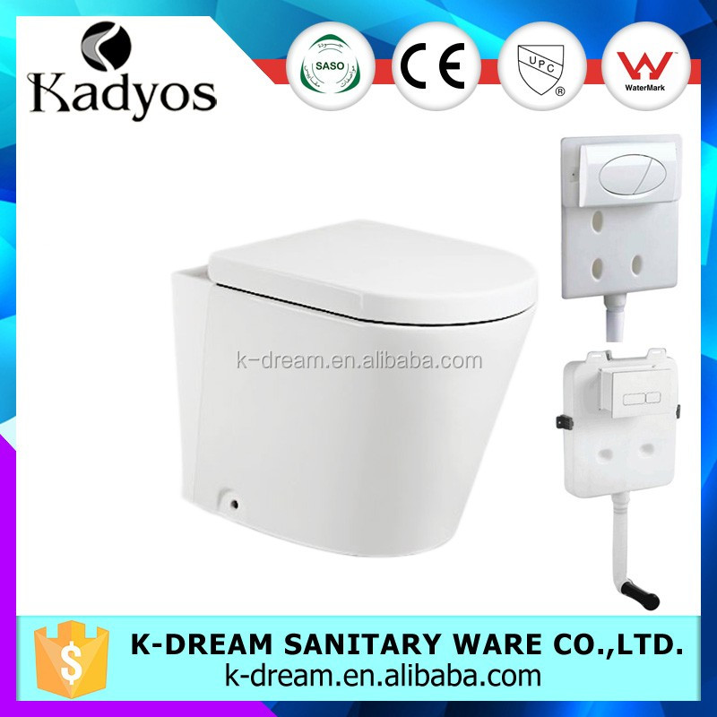 WC toilet, sanitary p-trap toilet floor mounted KD-04FT
