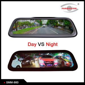 Android GPS 4G Full HD Stream Media Mirror Monitor System Kit 4 Camera DVR Recording 1920x1080P for Car Reversing Aid