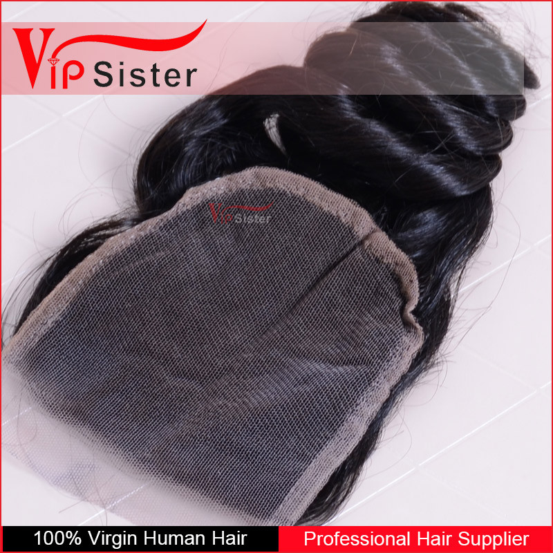 VIP Sister Hair loose wave lace cloure with nature hairline and baby hair
