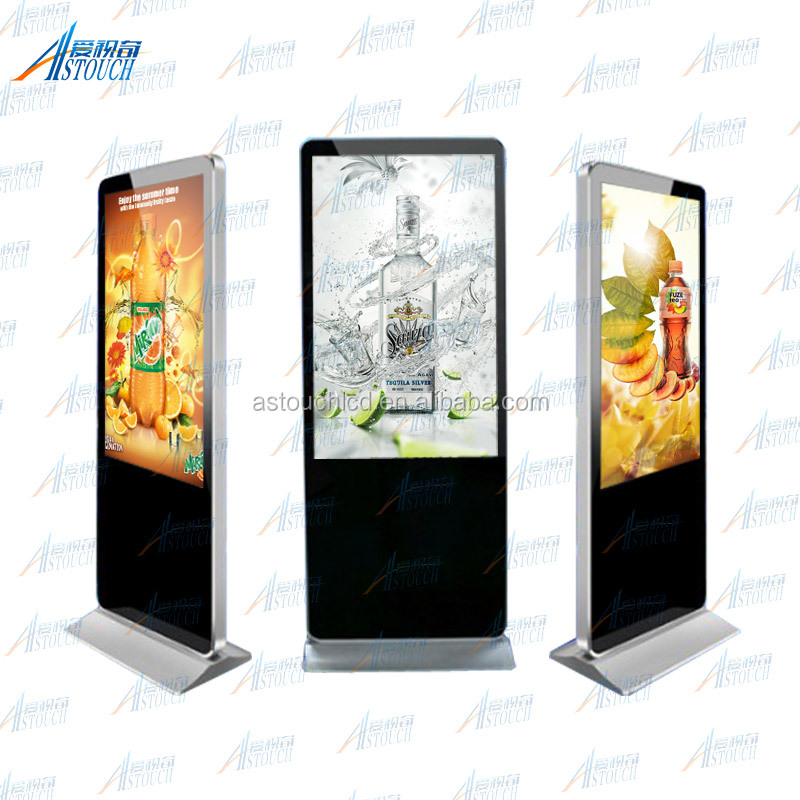 "55"" photo booth machine with touch self-service terminal kiosk wireless"