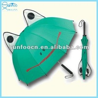 Animal shaped umbrella frog ear umbrella for kids