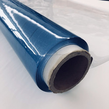 China mattress pvc packing film transparent flexible film in roll form