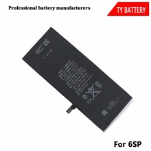 Factory Wholesale High Capacity Mobile Phone Battery for iPhone 6splus/6sp Battery