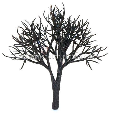 ho scale 1:80 model Hemp needle tree