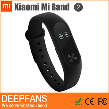 New Technology in 2016 100% Original mi band 2 smart bracelet for iphone 6s plus for sports