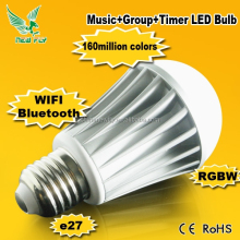 Smart Wifi Bluetooth Led Bulb car music rhythm lamp led sound activated equalize